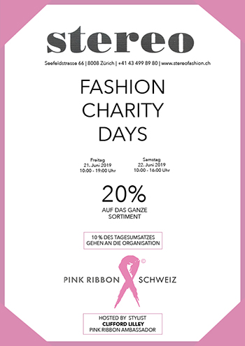 Stereofashion Fashion Charity Days